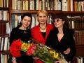 R. Budbergytė J. Marcikevičiaus bibliotekoje. Foto O. Valkauskienės  (11)