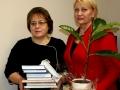 R. Budbergytė J. Marcikevičiaus bibliotekoje. Foto O. Valkauskienės  (12)