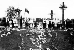 Koplytėlės šventinimas 1989 m. gegužės 13 d.