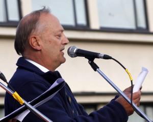 Čempionato žiuri pirmininkas Rik Cheppe