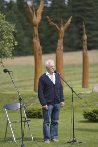 Jono Kazlausko premijos laureatą pristatė prof. Bonifacas Stundžia.