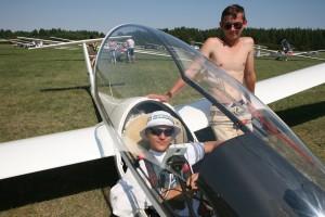 Jauniausias klubinė—s klasė—s pilotas Ignas Bitinaitis