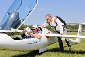 Pasaulio 13,5 m klasės čempionate Lietuvos pilotai Vladas Motūza ir Tomas Kuzmickas ,Foto O.Valkauskienės