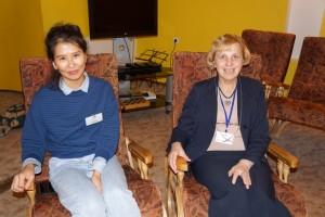 Anna su programos mentore Raimonta Sakalauskiene.
