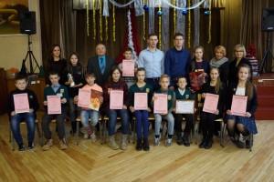 Konkurso laureatai ir specialiųjų prizų laimėtojai.