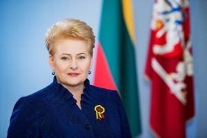 Prezidentė Dalia Grybauskaitė Vasario 16