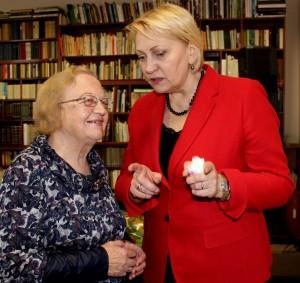 Prisiminimais gyvas pokalbis su buvusia mokytoja V. Beliūniene.