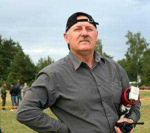 Aviacijos šventės iniciatorius ir organizatorius Kęstutis Milušauskas.