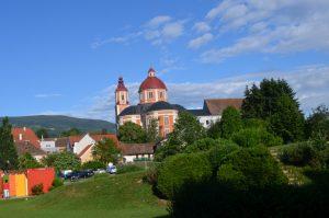 Pollau miestelio šventovė.