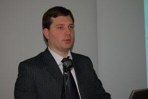 """""""Lietuvos pieno ūkis turi potencijos įsitvirtinti Europos ir pasaulio rinkoje"""", – sako Valstybinės maisto ir veterinarijos tarnybos direktoriaus pavaduotojas Deividas Kliučinskas."""