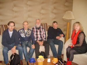 """LPF """"Garstyčios grūdas"""" įkūrėja S.Kondrotienė su  darbuotojais ir veiklos partneriais iš Olandijos."""