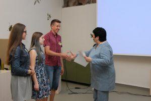 Konkurso prizininkus sveikina švietimo ir mokslo ministrė Audronė Pitrėnienė.