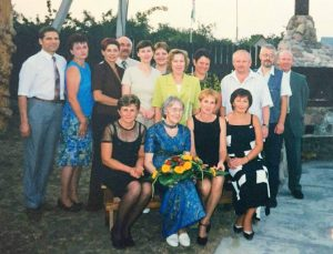1977 m. laidos susitikimas po 25 metų.