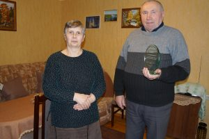 Petronėlė ir Juozas Mekioniai.