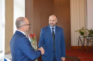Nuo gruodžio 1 d. Taryboje pradėjo dirbti Vaidotas Kupstas.