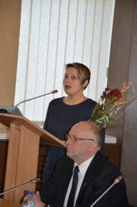 Tarybos nariams prisistatė ir naujoji Prienų kultūros ir laisvalaikio centro direktorė Virginija Naudžiūtė.