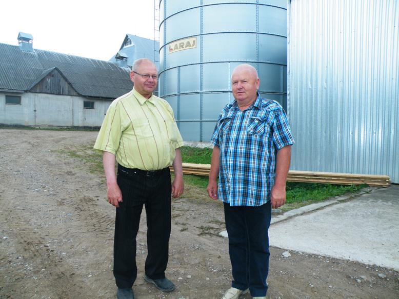 Ūkininkui Jonui Gradeckui ir Ūkininkų sąjungos Prienų rajono skyriaus pirmininkui Martynui Butkevičiui visada yra apie ką padiskutuoti.