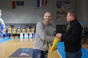 Naudingiausias finalo žaidėjas Andrius Čibiras.