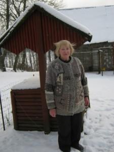 Zita Bartusevičiūtė sako, kad Nemajūnuose jai - ramu.