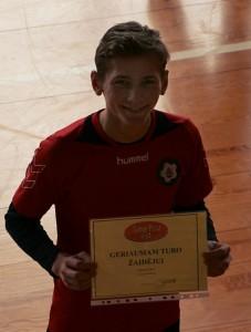 Naudingiausias pirmojo turo žaidėjas Edvinas Dabulevičius.